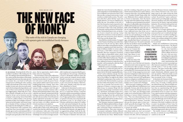 Article Preview: THE NEW FACE OF MONEY, DECEMBER 2017 | Maclean's