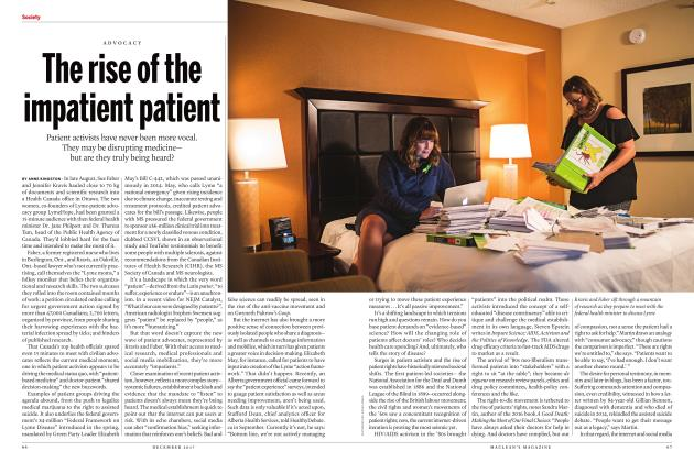 Article Preview: The rise of the impatient patient, DECEMBER 2017 | Maclean's
