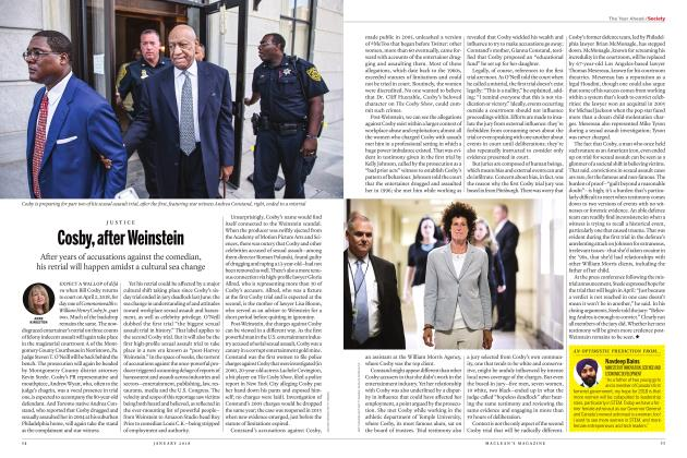 Article Preview: Cosby, after Weinstein, JANUARY 2018 | Maclean's