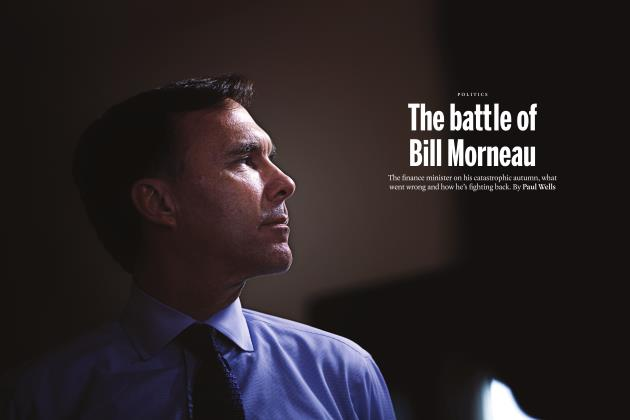 Article Preview: The battle of Bill Morneau, FEBRUARY 2018 2018 | Maclean's