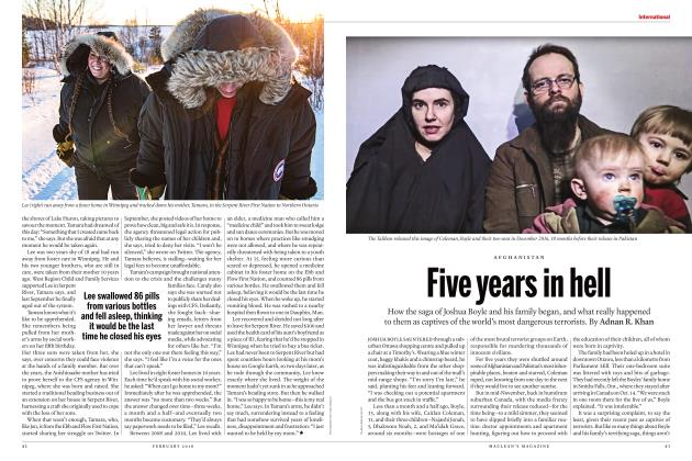 Article Preview: Five years in hell, FEBRUARY 2018 | Maclean's