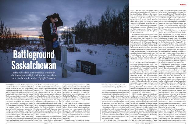 Article Preview: Battleground Saskatchewan, APRIL 2018 2018 | Maclean's