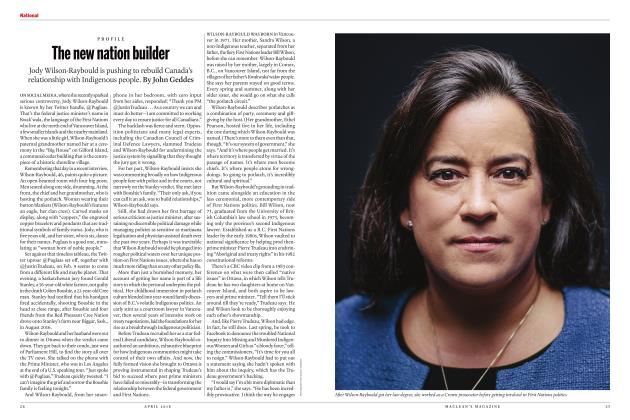 Article Preview: The new nation builder, APRIL 2018 | Maclean's