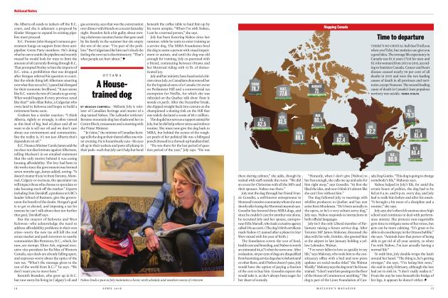 Article Preview: A Housetrained dog, APRIL 2018 | Maclean's