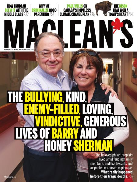 Issue: - MAY 2018   Maclean's