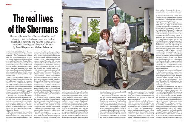Article Preview: The real lives of the Shermans, MAY 2018 | Maclean's
