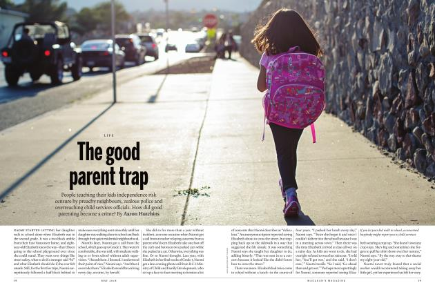 Article Preview: The good parent trap, MAY 2018 | Maclean's