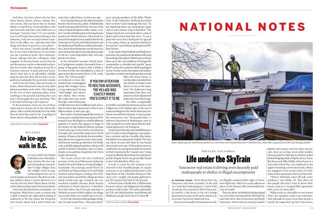 Article Preview: Life under the SkyTrain, MAY 2018 | Maclean's