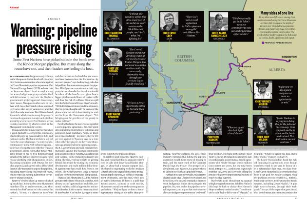 Article Preview: Warning: pipeline pressure rising, June 2018 | Maclean's