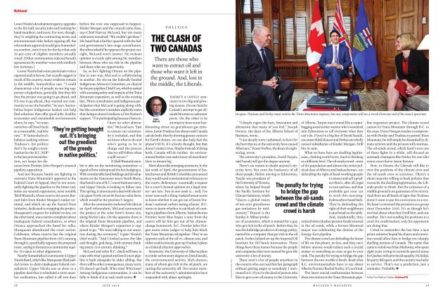 Article Preview: THE CLASH OF TWO CANADAS, June 2018 | Maclean's
