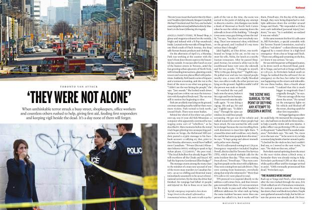 Article Preview: 'THEY WERE NOT ALONE', June 2018 | Maclean's