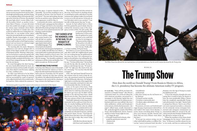 Article Preview: The Trump Show, June 2018 | Maclean's