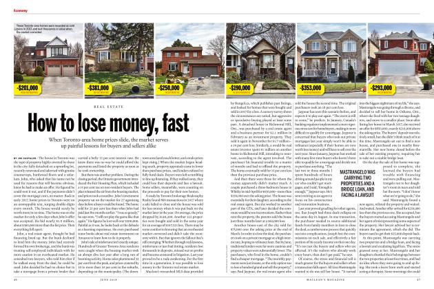 Article Preview: How to lose money, fast, June 2018 | Maclean's