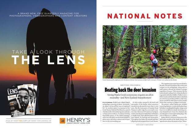 Article Preview: Beating back the deer invasion, June 2018 | Maclean's