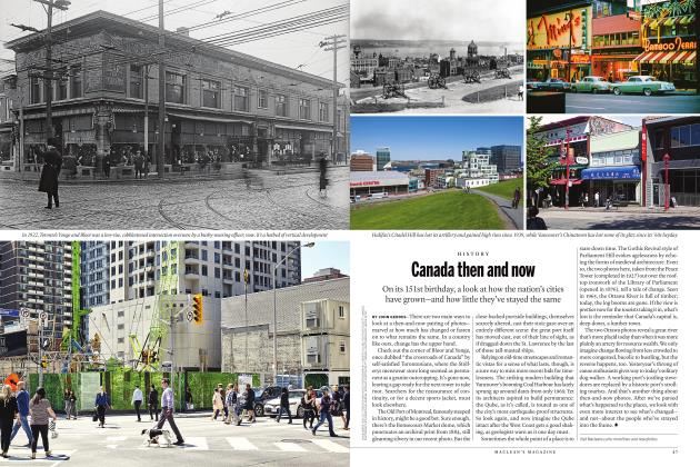 Article Preview: Canada then and now, JULY 2018 | Maclean's