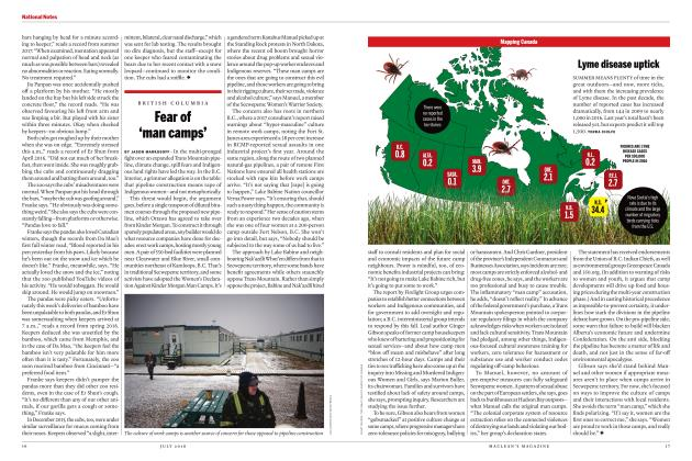 Article Preview: Fear of 'man camps', JULY 2018 | Maclean's