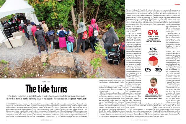 Article Preview: The tide turns, SEPTEMBER  2018 | Maclean's
