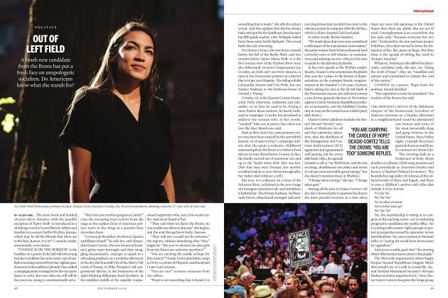 Article Preview: OUT OF LEFT FIELD, SEPTEMBER  2018 | Maclean's