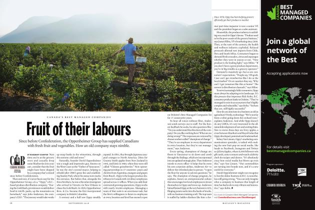 Article Preview: Fruit of their labours, SEPTEMBER  2018 | Maclean's
