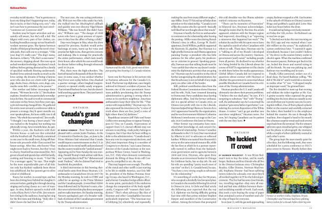 Article Preview: The luckiest IT crowd, SEPTEMBER  2018 | Maclean's