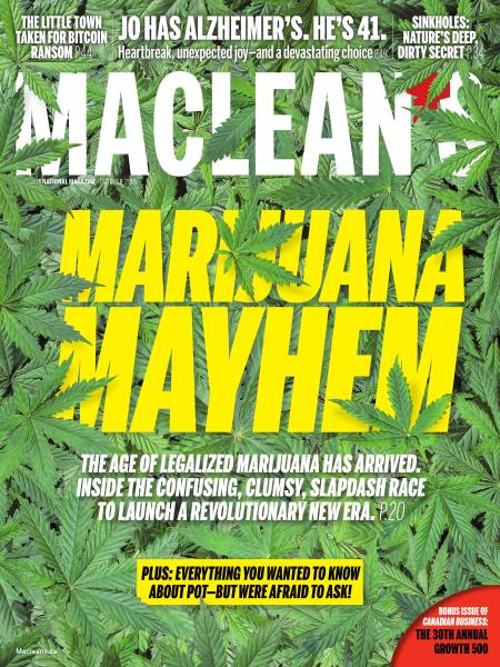 Issue: - OCTOBER 2018 | Maclean's