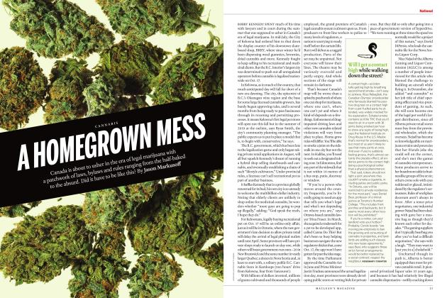 Article Preview: A HOMEGROWN MESS, OCTOBER 2018 | Maclean's
