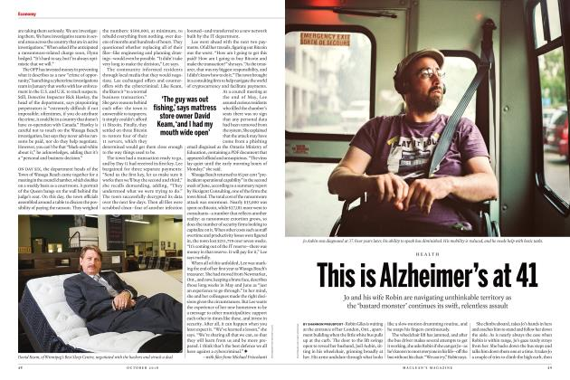 Article Preview: This is Alzheimer's at 41, OCTOBER 2018 | Maclean's