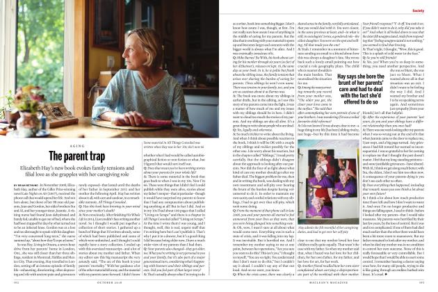 Article Preview: The parent trap, OCTOBER 2018 | Maclean's