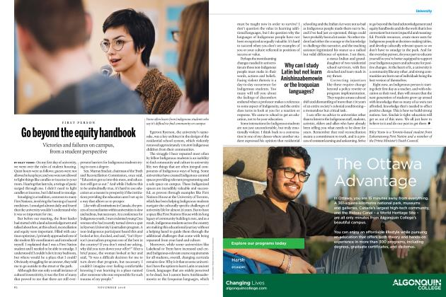 Article Preview: Go beyond the equity handbook, NOVEMBER 2018 | Maclean's