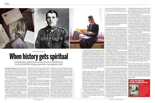 Article Preview: When history gets spiritual, DECEMBER 2018 | Maclean's