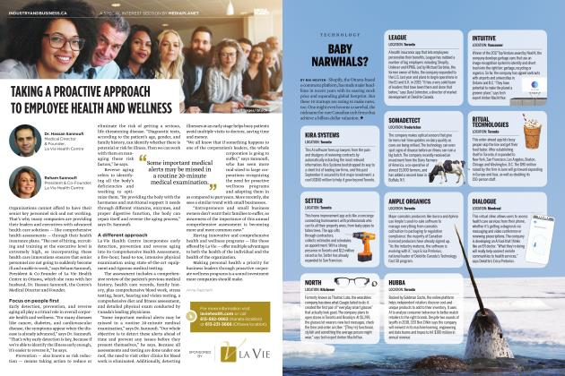Article Preview: BABY NARWHALS?, JANUARY 2019 | Maclean's