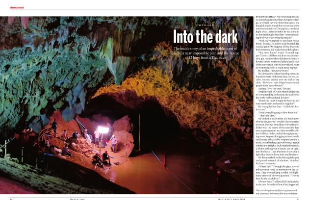 Article Preview: Into the dark, MARCH 2019 | Maclean's