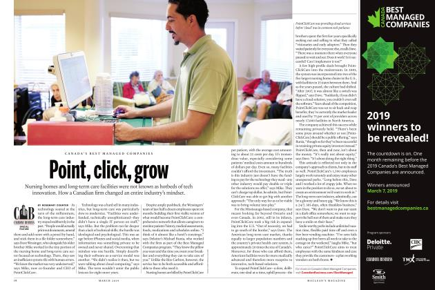 Article Preview: Point, click, grow, MARCH 2019 | Maclean's