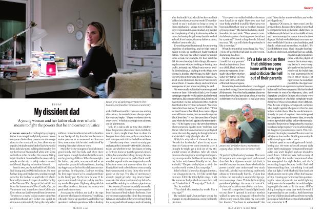 Article Preview: My dissident dad, MARCH 2019 | Maclean's