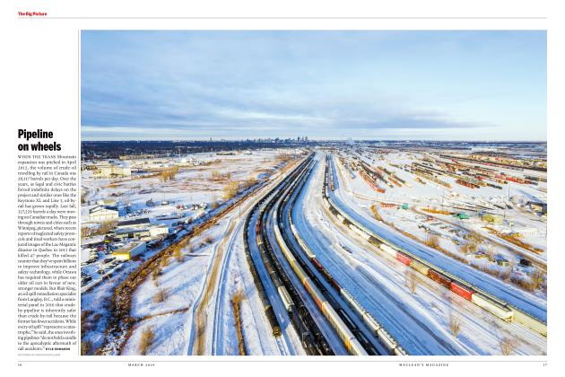 Article Preview: Pipeline on wheels, MARCH 2019 | Maclean's