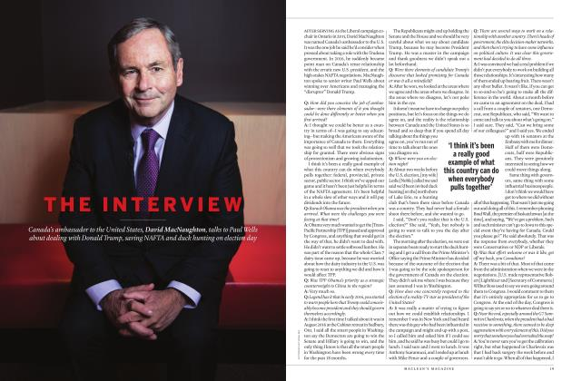 Article Preview: THE INTERVIEW, APRIL 2019 | Maclean's