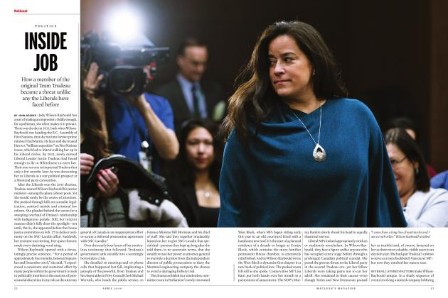 Article Preview: INSIDE JOB, APRIL 2019 | Maclean's