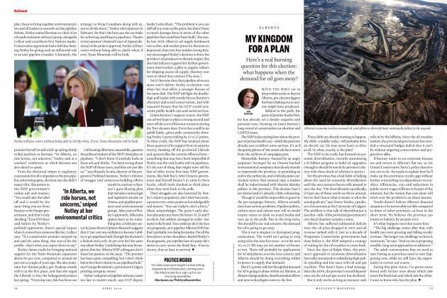 Article Preview: MY KINGDOM FOR A PLAN, APRIL 2019 | Maclean's