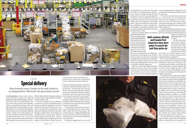 Article Preview: Special delivery, APRIL 2019 | Maclean's