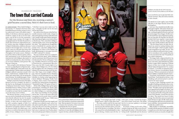 Article Preview: The town that carried Canada, APRIL 2019 | Maclean's