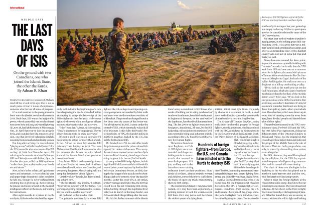 Article Preview: THE LAST DAYS OF ISIS, APRIL 2019 | Maclean's