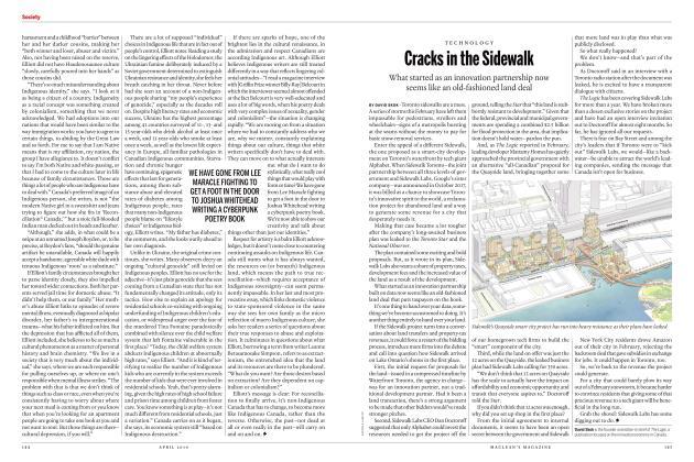 Article Preview: Cracks in the Sidewalk, APRIL 2019 | Maclean's