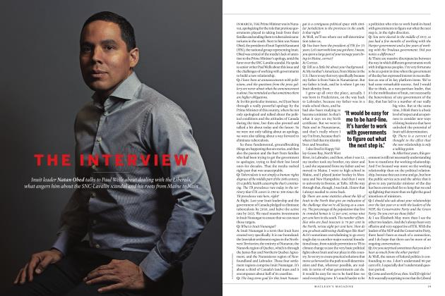 Article Preview: THE INTERVIEW, MAY 2019 | Maclean's