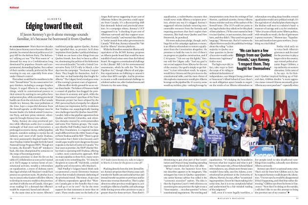 Article Preview: Edging toward the exit, MAY 2019 | Maclean's