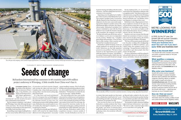 Article Preview: Seeds of change, MAY 2019   Maclean's