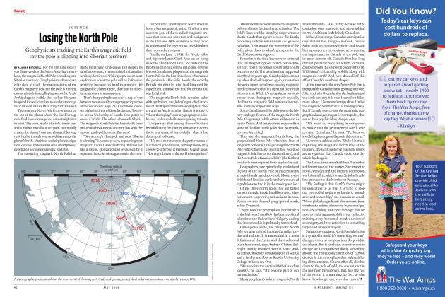 Article Preview: Losing the North Pole, MAY 2019 | Maclean's