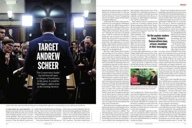 Article Preview: TARGET ANDREW SCHEER, JUNE 2019 | Maclean's
