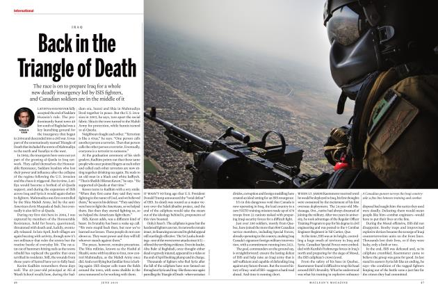 Article Preview: Back in the Triangle of Death, JUNE 2019 2019 | Maclean's