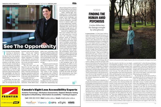 Article Preview: FINDING THE HUMAN AMID PSYCHOSIS, JUNE 2019 | Maclean's