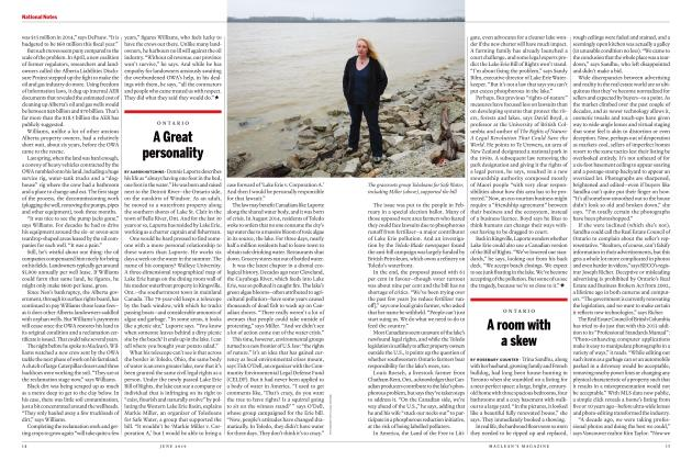 Article Preview: A room with a skew, JUNE 2019 | Maclean's